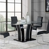 Caitlin Dining Table, Black