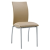 Leonardo Dining Side Chair in Beige