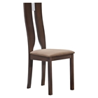 Paige Dining Chair - Dark Walnut