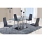 Karina 5-Piece Dining Set - GLO-D368DT-D140DC-M-SET