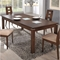 Amanda 5-Piece Dining Set in Burn Beech - GLO-D4930DT-D3904DC-M-SET