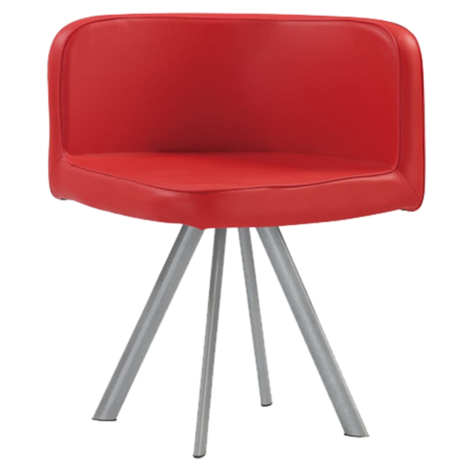 Emma Dining Chair - Red (Set of 2) - GLO-D536-1-RED-DC-M