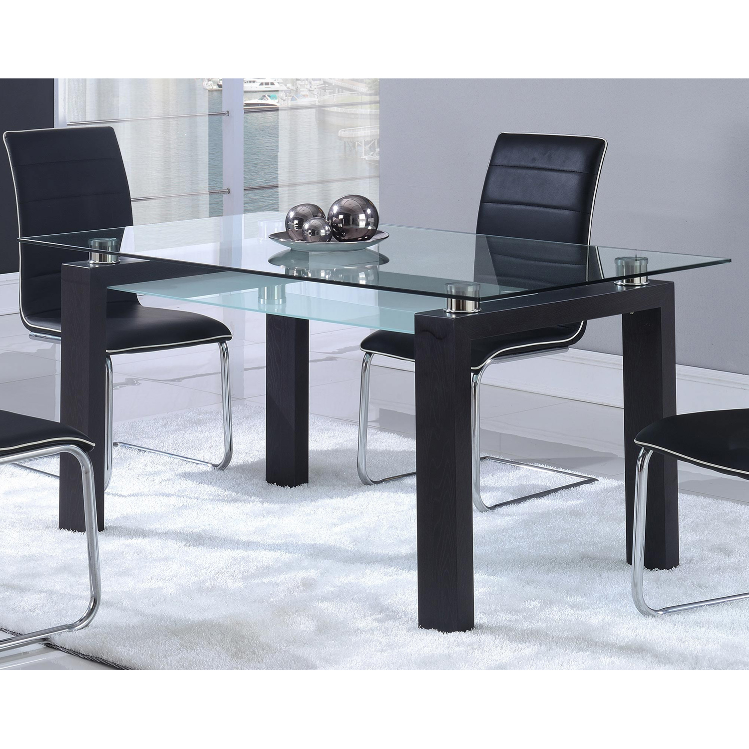 Katelyn Dining Table - Black