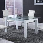 Jenna Dining Table in White