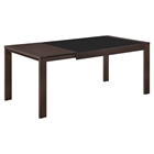 Paige Extension Dining Table - Dark Walnut