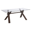 Gabrielle Dining Table - Dark Walnut