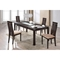 Lillian 5-Piece Dining Set, Dark Walnut - GLO-D6948-DT-M-D2403DC-SET