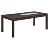 Lillian Extension Dining Table, Dark Walnut