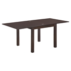 Shelby Extension Dining Table in Dark Walnut
