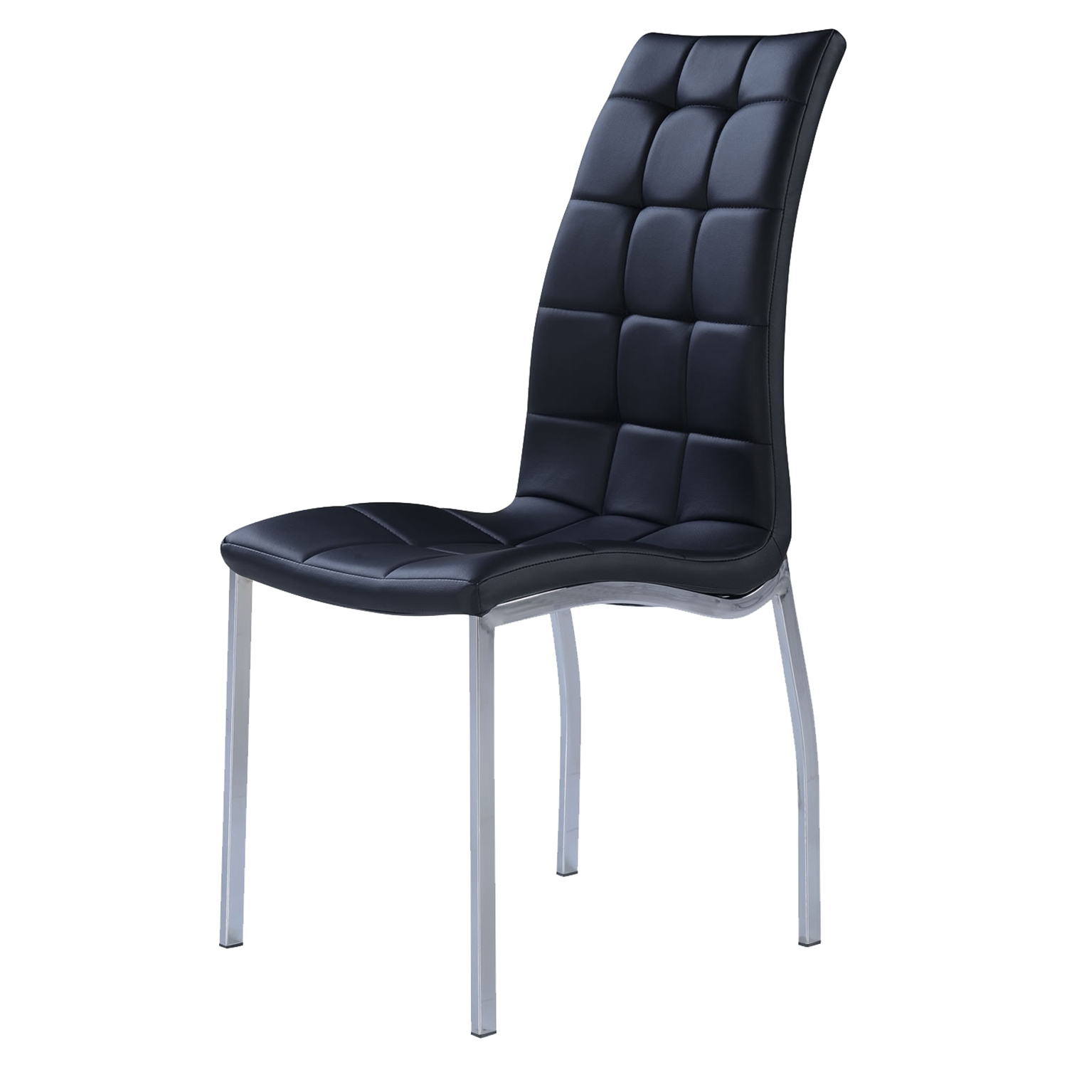 Camila Dining Chair, Black - GLO-D716DC-M