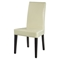 Tristan 6-Piece Dining Set, Beige Chairs, Wenge Table - GLO-DG020-BEI-SET