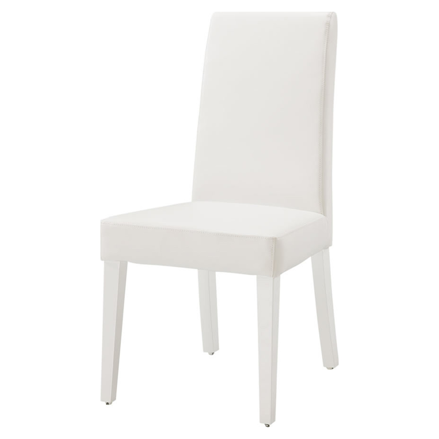 Tristan Dining Chair, Glossy White