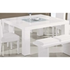 Tristan Dining Table - Glossy White