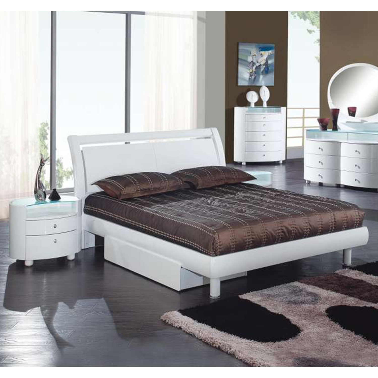 Emily Bedroom Set in White