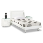 Emily Kids Wooden Bedroom Set - White