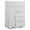 Eva Chest, High Gloss White