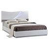 Eva Bed in High Gloss White