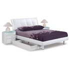 Evelyn Kids Sleigh Bed with Nightstands