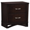 Fairmont Nightstand, Dark Cappuccino - GLO-FAIRMONT-NS-M