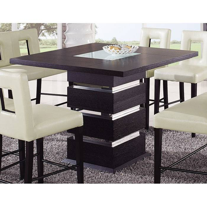 Brinley 7 Piece Pub Set with Benches - GLO-G072BT-G072BS-G072BN-7PC