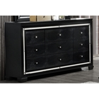 Galaxy Dresser - Metallic Black