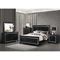 Galaxy Bedroom Set in Metallic Black - GLO-GALAXY-BED-SET