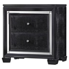 Galaxy Nightstand in Metallic Black