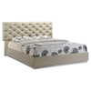Grace Bed in High Gloss Zebra Cherry/Champagne
