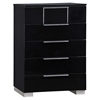 Hailey Chest - High Gloss Black