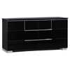 Hailey Dresser, High Gloss Black