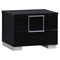 Hailey Bedroom Set in High Gloss Black - GLO-HAILEY-BED-SET