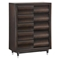 Hampton Chest, Antique Mahogany - GLO-HAMPTON-CH-M
