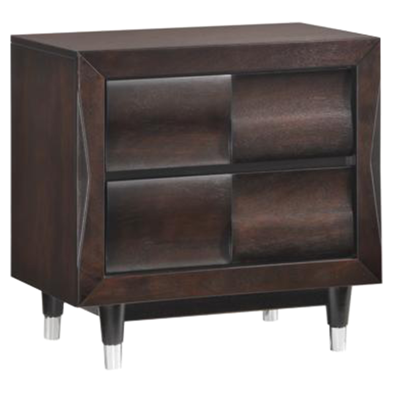 Hampton Nightstand in Antique Mahogany