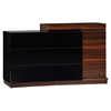 Lexi Dresser, High Gloss Black/Zebra Walnut