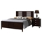 Lily Bedroom Set - Antique Black - GLO-LILY-FD0060A-M-SET
