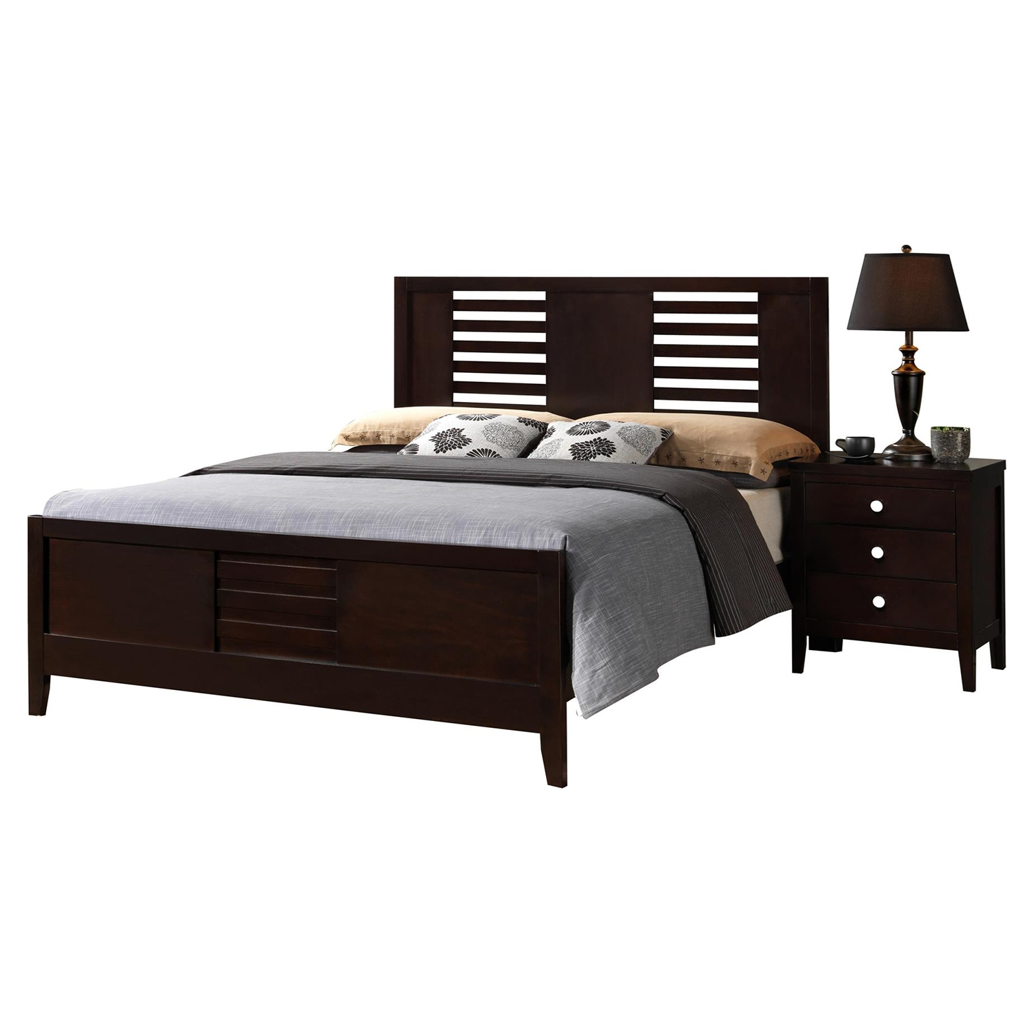 Lily Bedroom Set - Antique Black