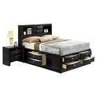 Linda Bedroom Set in Black