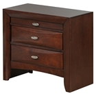 Linda Nightstand, New Merlot
