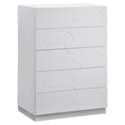 Lola Chest - High Gloss White