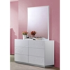 Lola Dresser, High Gloss White