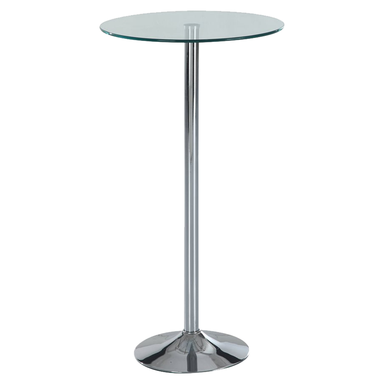 Alana Bar Table, Chrome Leg - GLO-M828BT-M