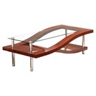 Mariah Coffee Table, Mahogany