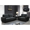 Joel Sofa Set in Champion Thunder