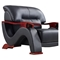 Valerie Sofa Set in Black Leather - GLO-U2033-LV-BL-SET