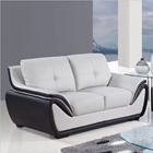 Bryson Loveseat - Gray and Black