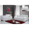 Caitlyn Sofa Set with Headrest - White