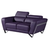 Braden Loveseat with Headrest - Purple