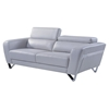 Braden Sofa with Headrest in Light Gray