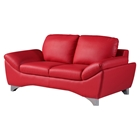 Angelica Loveseat - Natalie Red