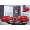 Angelica Sofa Set - Natalie Red